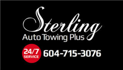 Sterling Auto Towing Plus Inc - Vehicle Towing - 604-715-3076