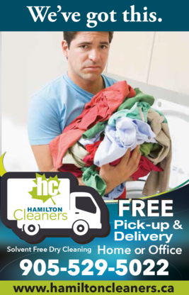 Hamilton Cleaners - Dry Cleaners - 905-529-5022