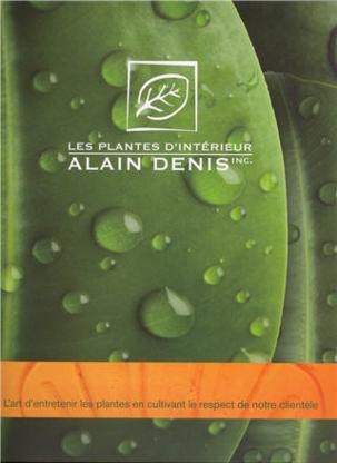 Les Plantes d'Intérieur Alain Denis - Grossistes de plantes d'intérieur et entretien de plantes