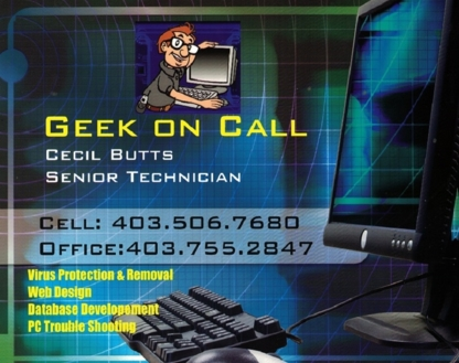 CEB Consulting Geek on Call - Computer Repair & Cleaning - 403-506-7680