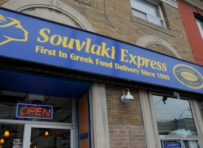 Souvlaki Express - Queen St E - Restaurants grecs - 416-637-6777