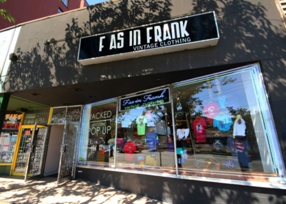 F As In Frank - Boutiques - 604-568-5130