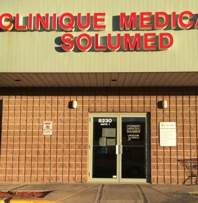 Polyclinique Medicale Solumed - Cliniques médicales - 450-466-5181