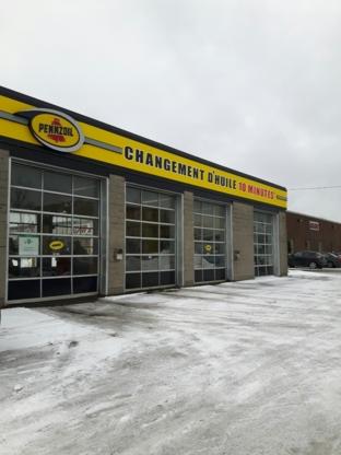 Centre de lubrification Pennzoil - Changements d'huile et service de lubrification - 514-366-5693