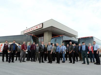 Franklin Coach & Tours Ltd - Location de bus et d'autocars