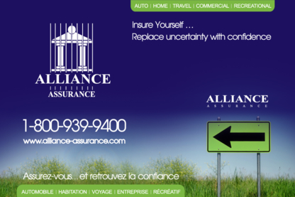 Alliance Assurance Inc - Travel Insurance - 506-273-9400