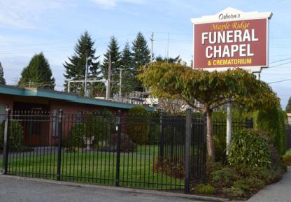View Maple Ridge Funeral Chapel & Crematorium's Vancouver profile