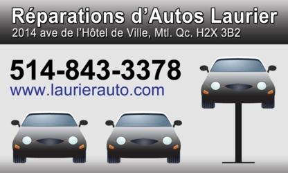 Reparations D'Autos Laurier - Services d'électricité et électriciens automobile - 514-843-3378