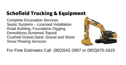 Schofield Trucking and Equipment - Excavation Contractors