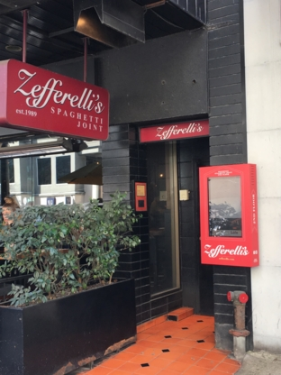 Zefferelli's - Italian Restaurants - 604-687-0655