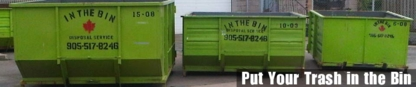 In The Bin Disposal Service - Bulky, Commercial & Industrial Waste Removal - 905-517-8246