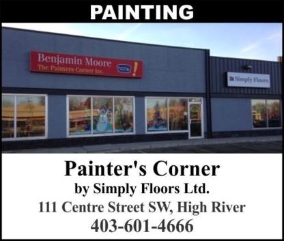 Painter's Corner and Flooring - Magasins de peinture