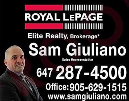 Sam Giuliano - Real Estate Agents & Brokers - 647-287-4500