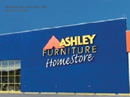 Ashley HomeStore - Major Appliance Stores - 204-783-6400