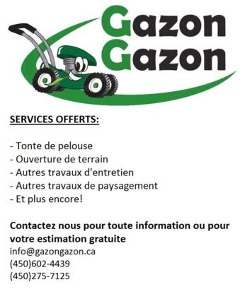 Gazon Gazon - Tree Service - 450-275-7125