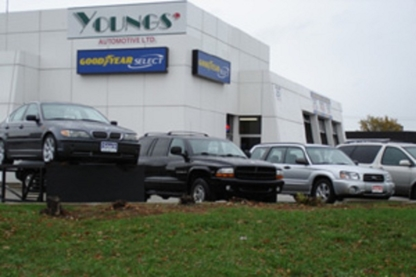 Unipro Auto Glass O. B Young's Automotive - Car Air Conditioning Equipment