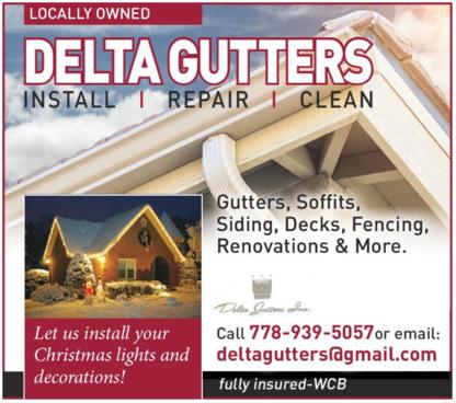 Voir le profil de Delta Gutters Inc - White Rock