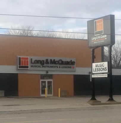 Long & Mcquade Ltd - Musical Instrument Stores - 905-438-8118