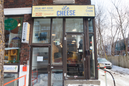 Le Cheese Diner / Casse Croute - American Restaurants - 514-487-3316