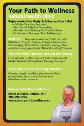 Your Path to Wellness - Holistic Health Care - 780-690-6242