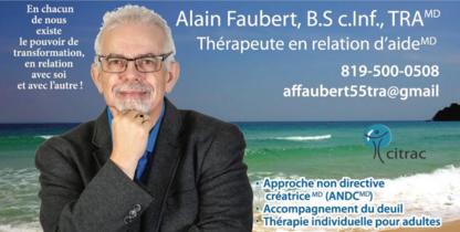 Alain Faubert Thérapeute en Relation d'Aide - Psychotherapy - 819-500-0508