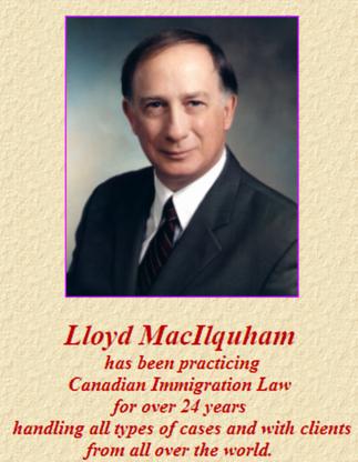 Lloyd W Macilquham - Lawyers - 250-729-9048