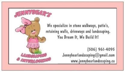 Jenny Bear's Landscaping & Interlocking - Paysagistes et aménagement extérieur
