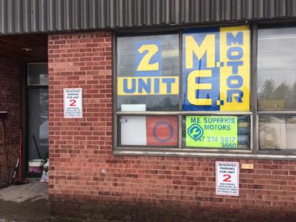 M.E. Superior Motors - Garages de réparation d'auto - 647-274-5817