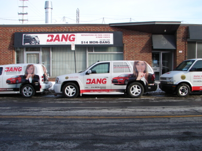 Bang Carrosserie Inc - Garages de réparation d'auto - 514-666-2264