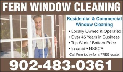 Fern Window Cleaning - Lavage de vitres - 902-483-0361