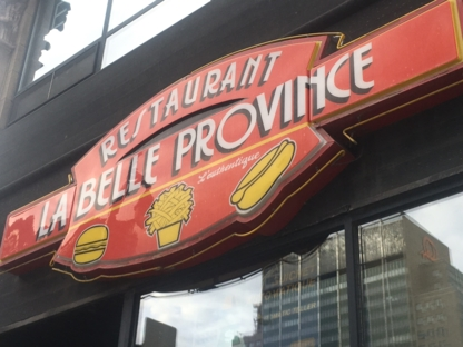 La Belle Province - Fast Food Restaurants