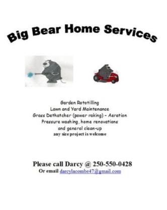 Big Bear Home Services - Home Improvements & Renovations - 250-550-0428