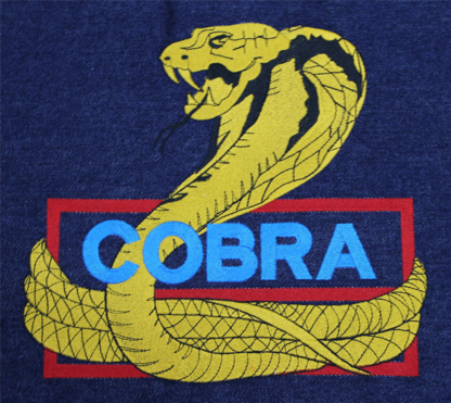 Viper Stitch Embroidery - T-Shirts - 250-391-7811
