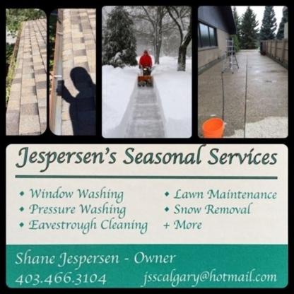 Jespersen Seasonal Services - Window Cleaning Service - 403-466-3104