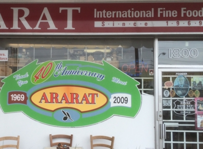 Ararat International Fine Foods - Gourmet Food Shops - 416-782-5722