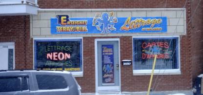 Enseignes Terry & Bill - Signs - 514-767-5787