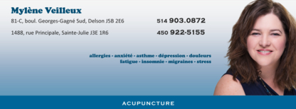 Voir le profil de Acupuncture Mylène Veilleux - Le Gardeur