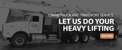 View Russel's Crane & Cartage Ltd's North Saanich profile