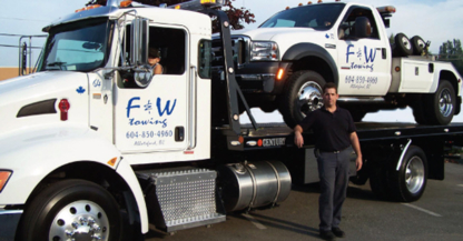 F & W Towing Ltd - Vehicle Towing