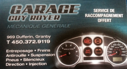 Garage Guy Royer - Auto Repair Garages - 450-372-9119