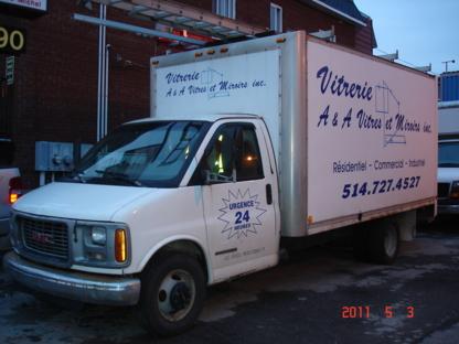 Vitrerie A Et A - Vitres de portes et fenêtres - 514-727-4527