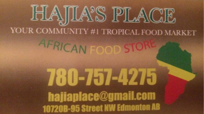 Hajia Place African Food Store - Grocery Stores - 780-757-4275
