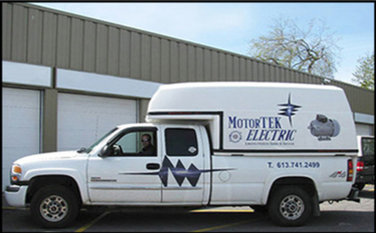 View Motortek Electric's Hull profile