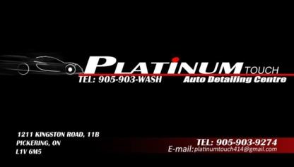 View Platinum Touch Detailing's Scarborough profile