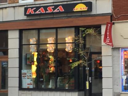 Kasa Sushi - Sushi et restaurants japonais - 514-564-3456
