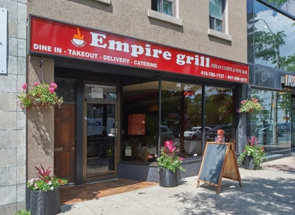 Empire Grill Indian Cuisine - Indian Restaurants - 416-785-1727