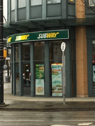 Subway - Sandwiches & Subs - 604-874-9885