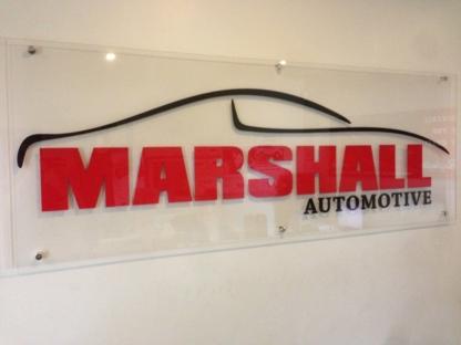 Marshall Automotive - Car Repair & Service - 705-733-2331