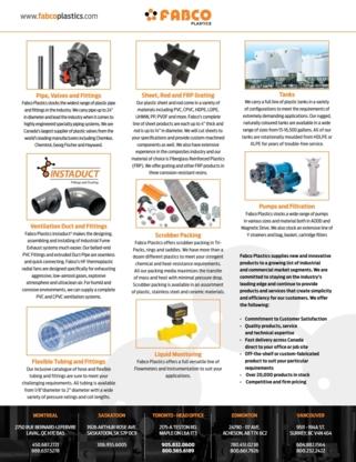 View Fabco Plastics Wholesale Limited's Glanworth profile