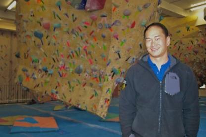 Calgary Climbing Centre Stronghold - Rock Climbing